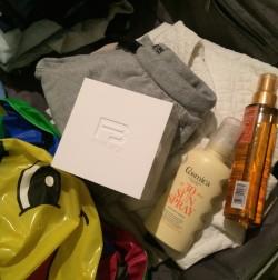 Boks i bagasjen